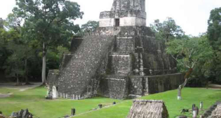 Tour  intrepid Radar Urban Adventure Tikal Yaxha ruins