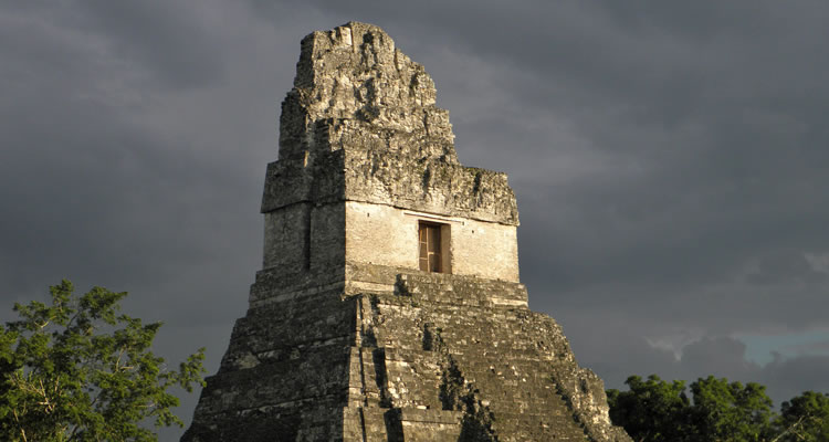 Tikal Ruins temples small group adventures tours