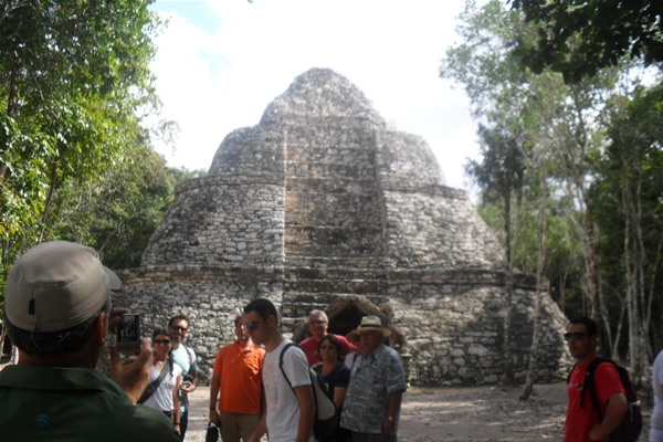 Coba Adventure tour Yucatan panoramic Mayan Peopla