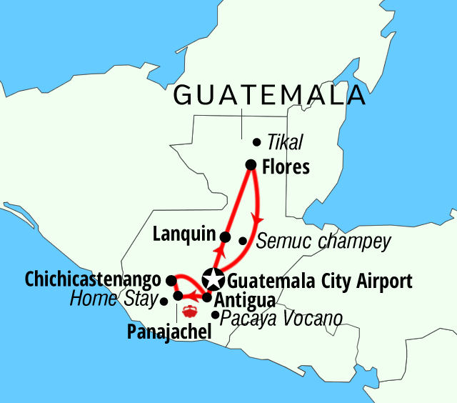 Mayan Explorer Guatemala Package active adventures tours