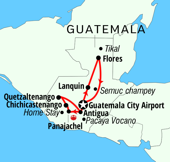 adventures tours Guatemala