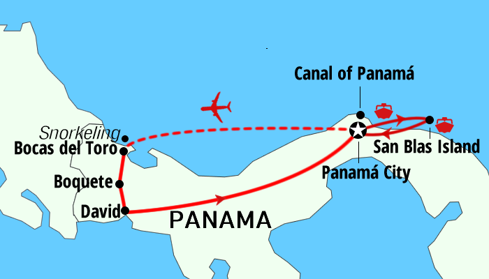 Panama Real way